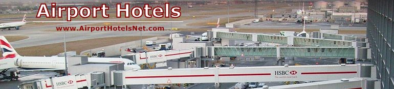airport hotels net header
